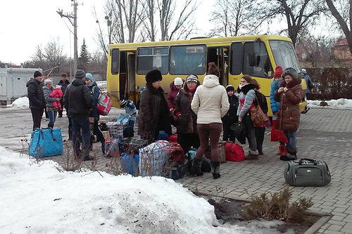 Ukraine: The Flight of Refugees