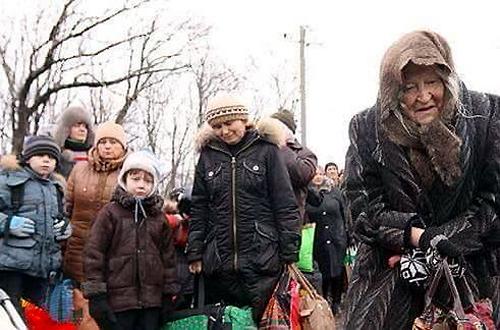 Ukraine: The Flight of Refugees
