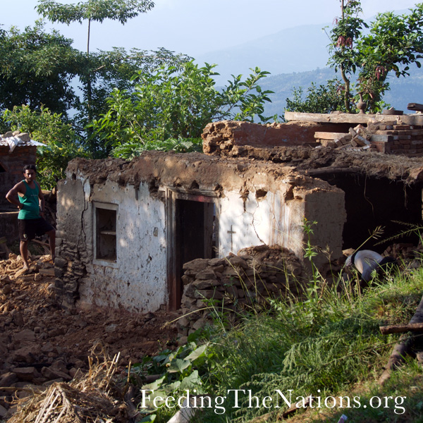 Rebuilding Nepal Through Food & Houses