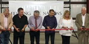 Feeding The Nations Warehouse ribbon cutting