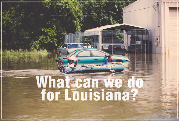 How to Help Louisiana Flood Victims