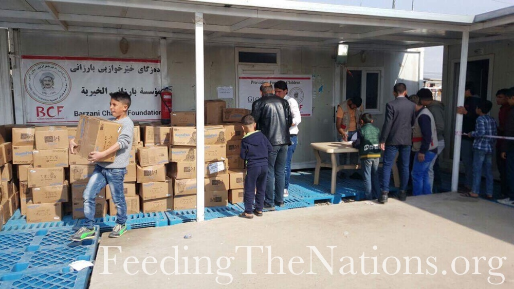 Iraq: A Million Meals and More for Refugees