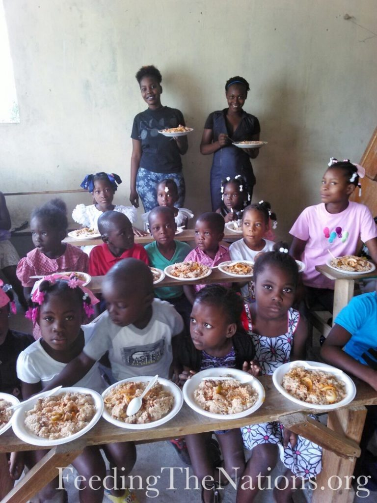 Haiti: Continuing School Meal Program