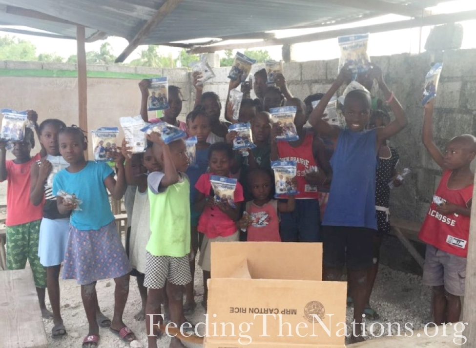 Haiti: Giving More Than Food to Odeline's Orphanage