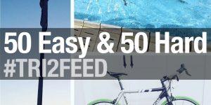 TRI2FEED: 50 Easy & 50 Hard