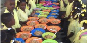 Haiti Children Eating