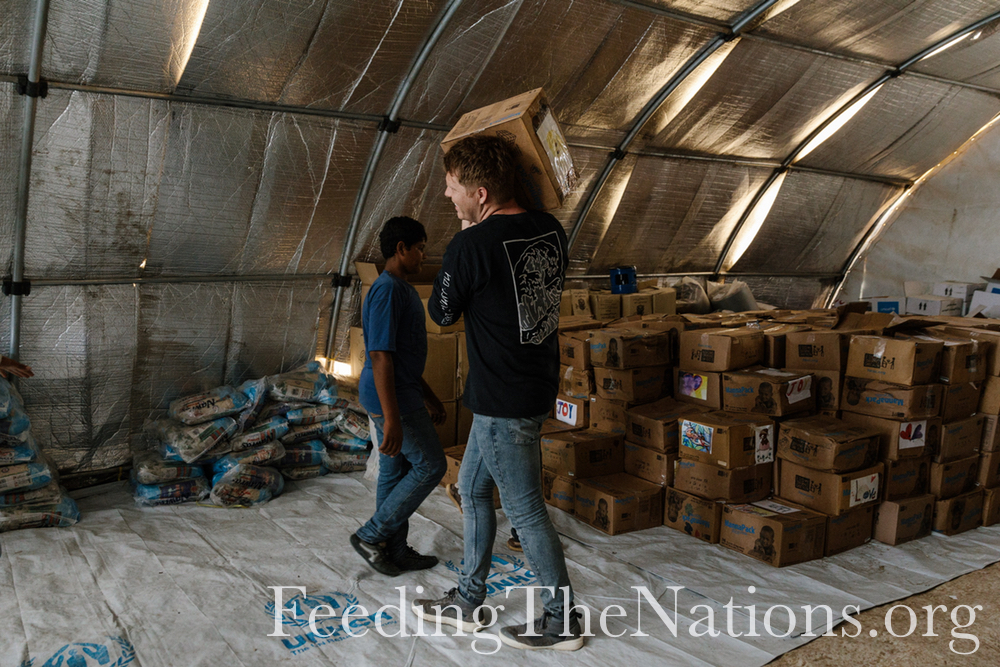 Iraq: Food Distribution & Relationship Building