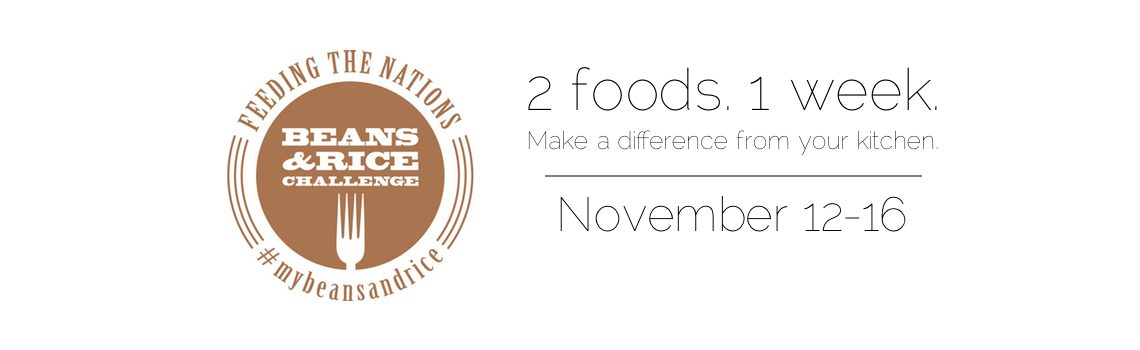 The Beans & Rice Challenge: How to Make Difference