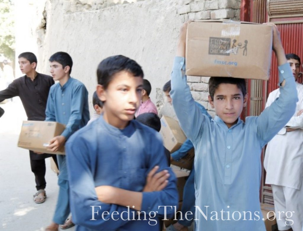 Afghanistan: Nutrition and Hope for Families in Kabul