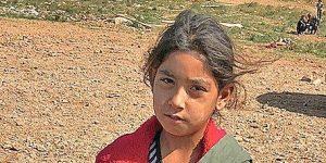 Refugee Girl in Greece