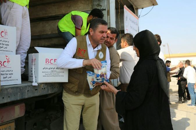 food distribution in Syria